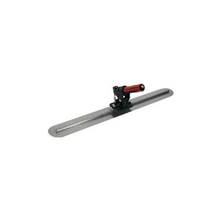 Kit lisseuse acier 91.5*12.7 cm avec attache rotative