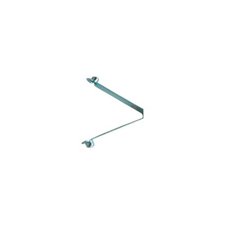 Clips de connexion pour manche aluminium