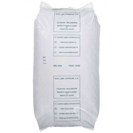 Silice 0.4/8-0.9 sac 25 kg