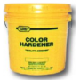 Colorant durcisseur coloré pour béton empreinte