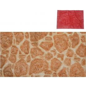 Matrice motif pierre rustique
