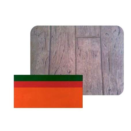 Matrice style bois rustique 40 cm