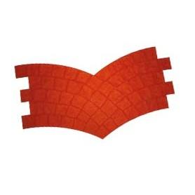 Matrice style pavés de paris 120 x 50 cm