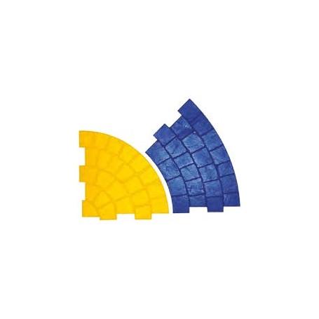 Matrice style pavé en cercle extérieur diamètre 75 cm