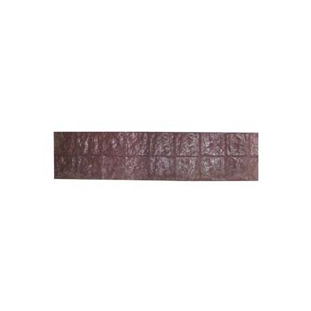 Matrice motif bordure pavés de paris 21 x 127 cm